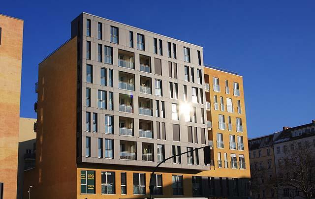 Wohnungsbau Kollwitzspitze - Berlin Mitte